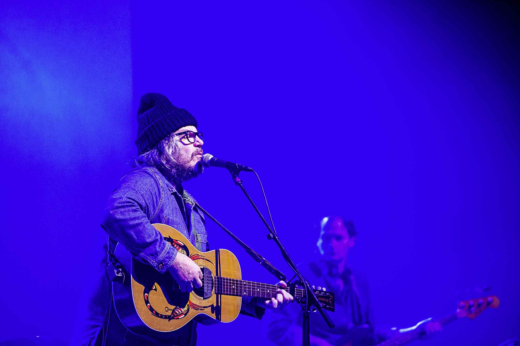 Jeff Tweedy and Wilco at the Centennial Concert Hall on March 11, 2020. (Mike Sudoma / Winnipeg Free Press files)