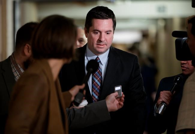 Beleaguered Nunes steps aside from House probe on Russia