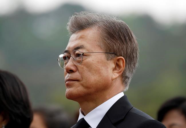 South Korea's new president moves to soothe tensions with China