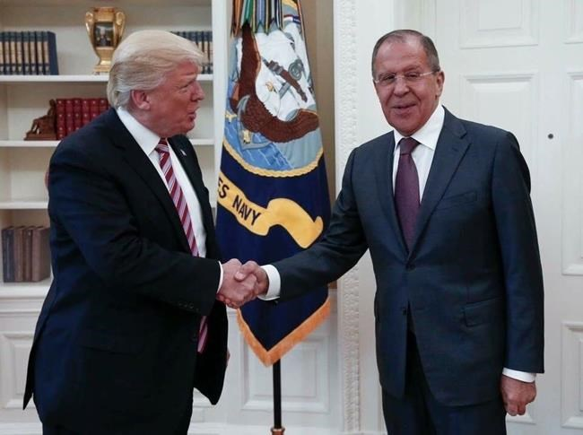 Trump to meet Russian foreign minister Lavrov on Wednesday - senior USA official