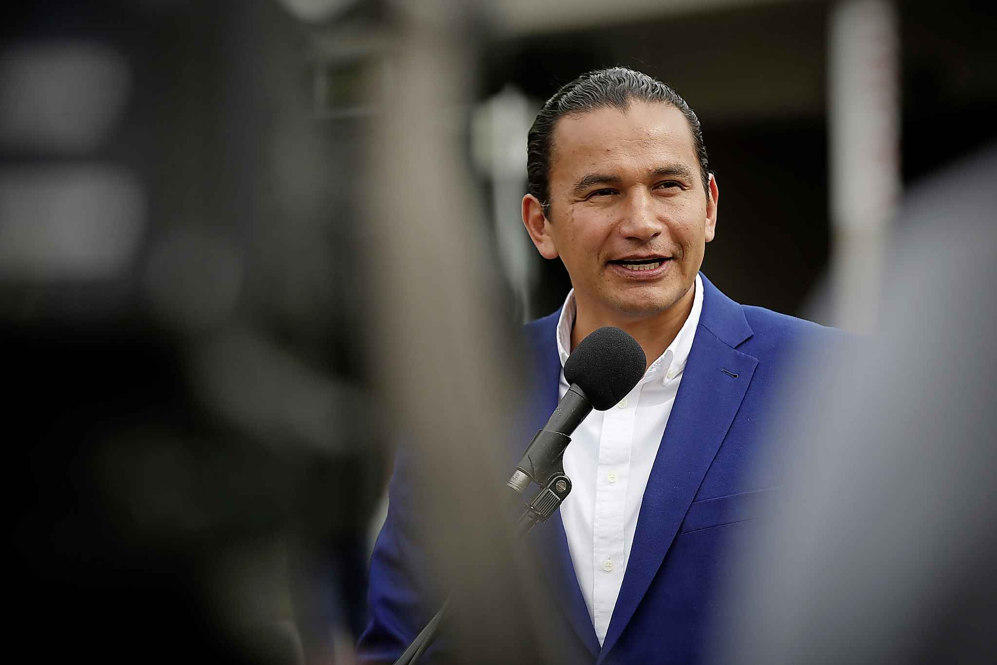 Wab Kinew (John Woods / Canadian Press files)