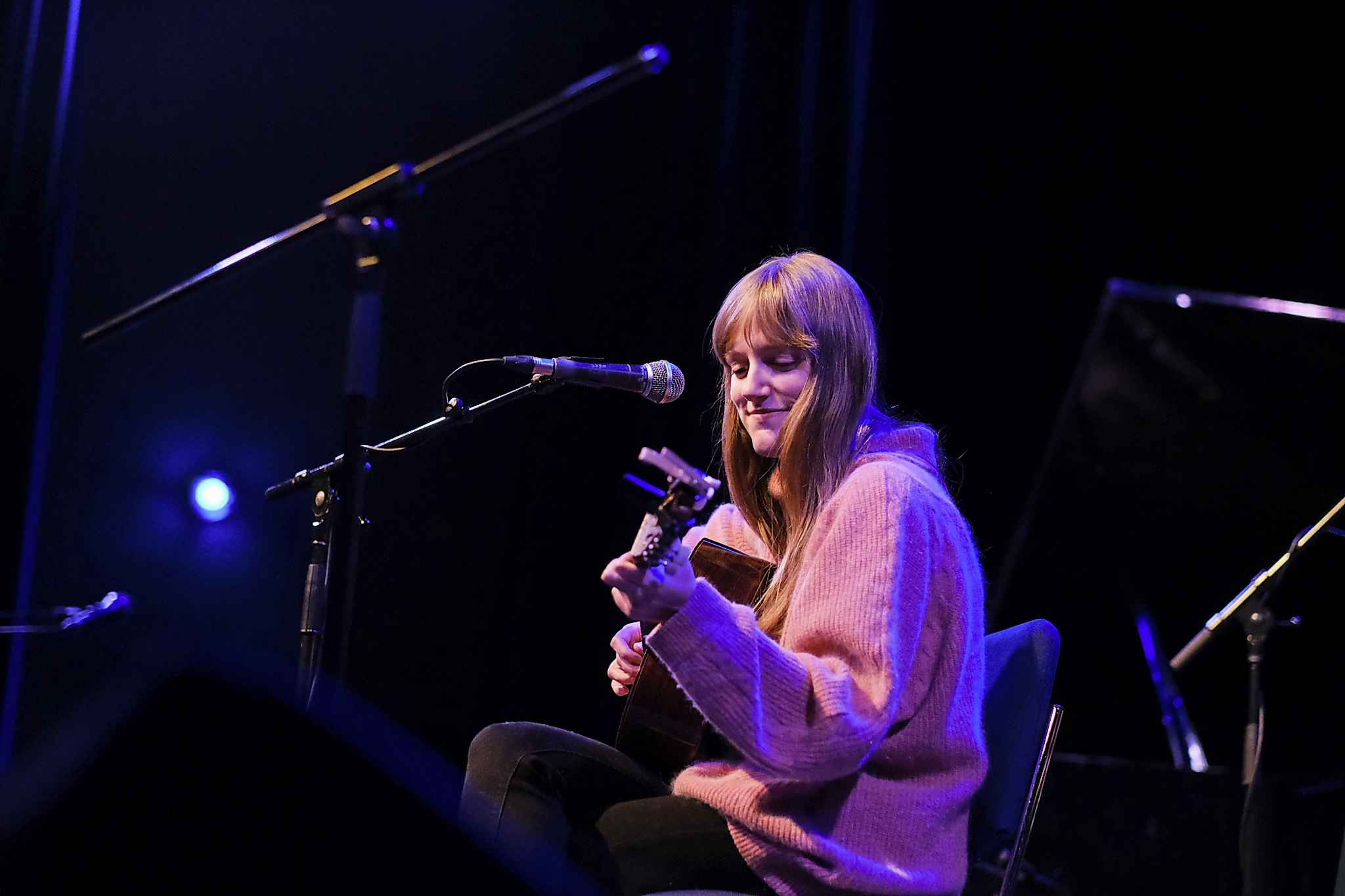 Sophie Stevens' last performance was opening for William Prince during his third consecutive sold-out show at the West End Cultural Centre. (Mike Sudoma / Winnipeg Free Press files)