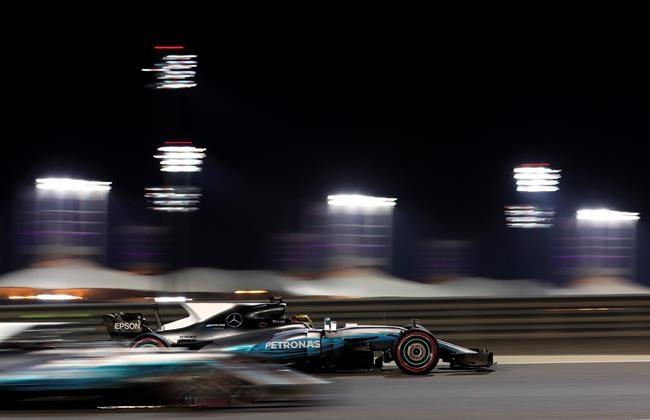 Formula One Bahrain Grand Prix qualifying session 2