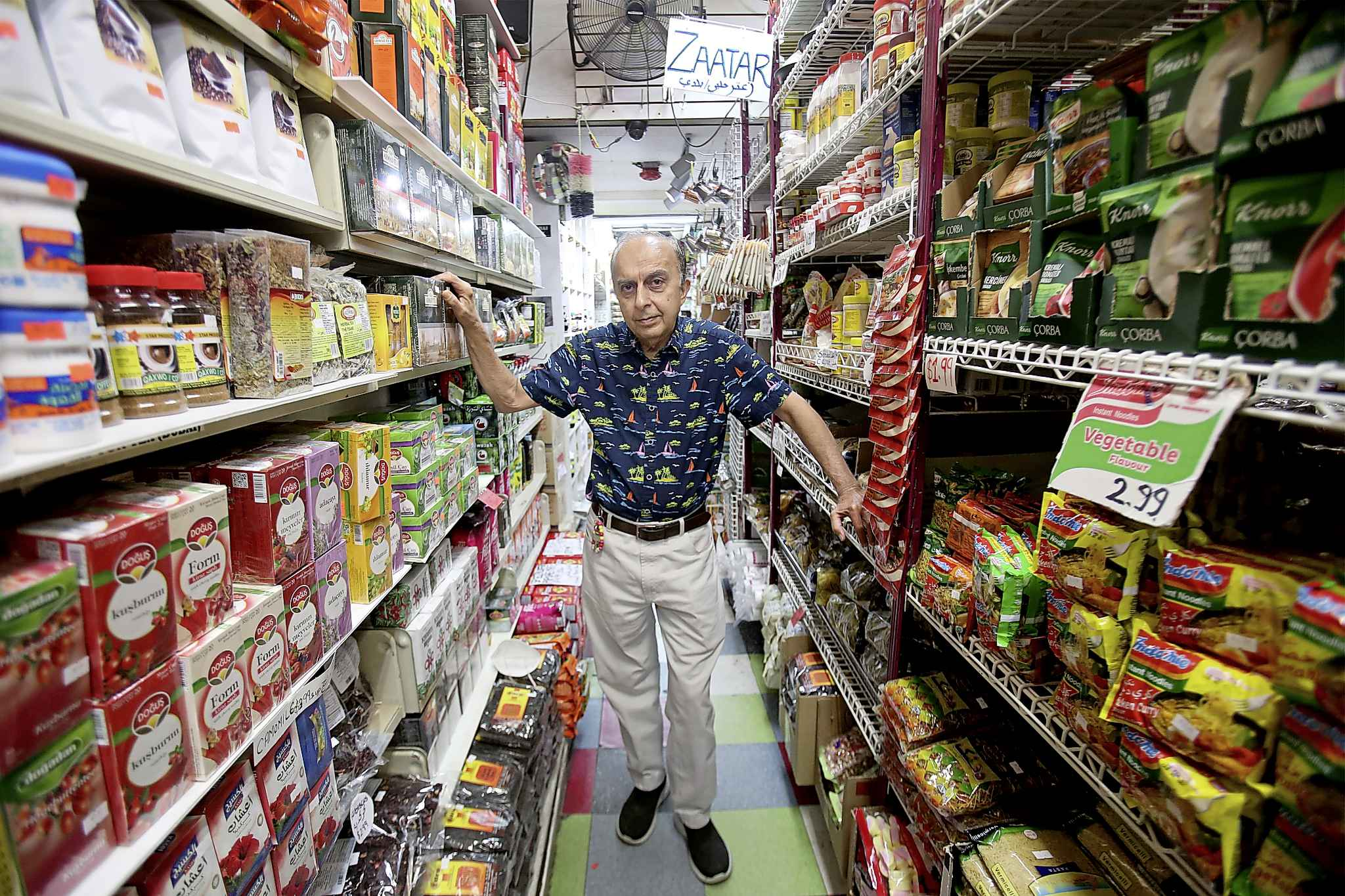 Halal stores serving as a safe space for newcomers might seem like a heavy responsibility to some, but Abdulrehman waves it off. Creating a safe space for everyone is just part of the job, he said