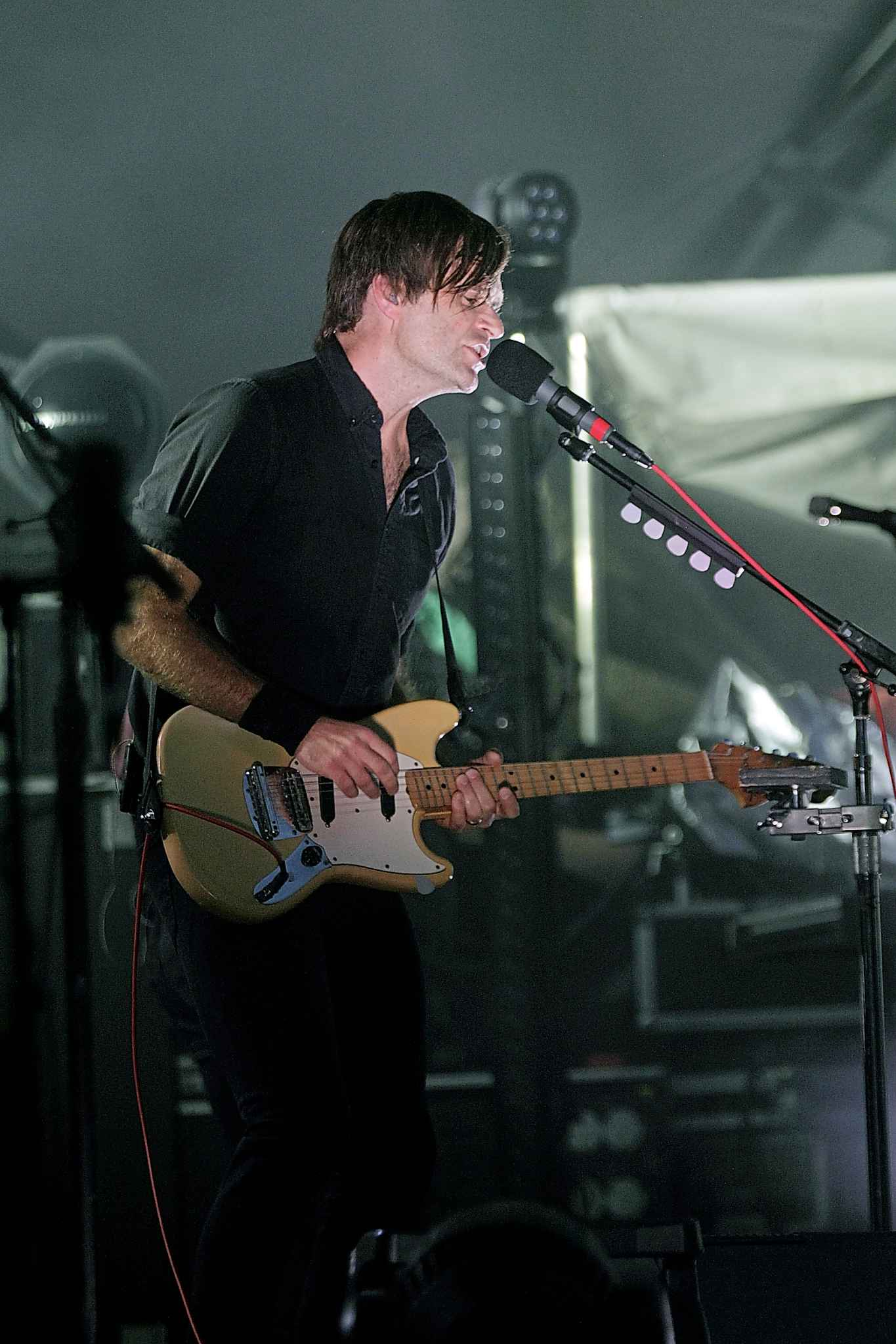 PHIL HOSSACK / WINNIPEG FREE PRESS</p><p>The performance by Death Cab for Cutie was shut down briefly due to lightning.</p>