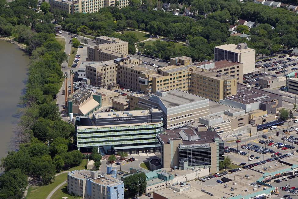 St. Boniface Hospital. July 3, 2012  (BORIS MINKEVICH / WINNIPEG FREE PRESS) (Winnipeg Free Press)