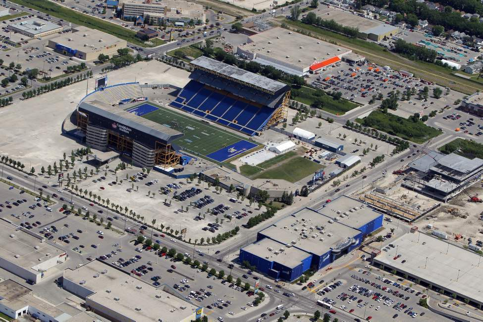 Canad Inns Stadium. Polo Park. July 3, 2012  (BORIS MINKEVICH / WINNIPEG FREE PRESS)