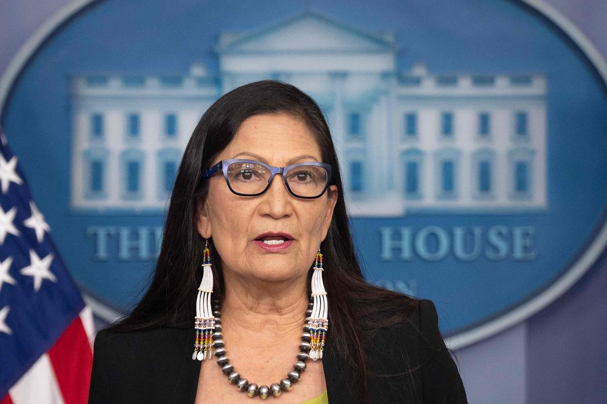 U.S. Secretary of the Interior Deb Haaland announced Tuesday her department is launching a program to investigate potential burial sites associated with 'Indian boarding schools' in the U.S.