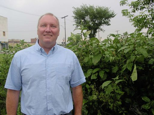 Green Party candidate Kevin Nichols is campaigning in Charleswood-St. James- Assiniboia-Headingley.