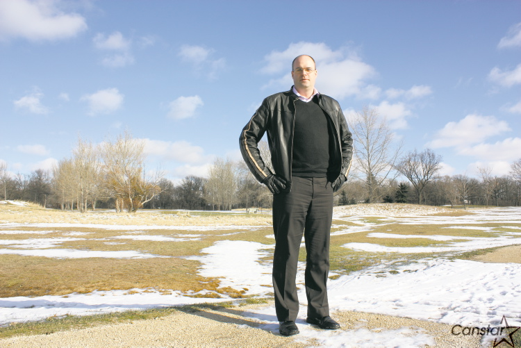 Grant Prairie said he and other residents near the Canoe Club golf course in St. Vital don't want to see the land sold and developed.