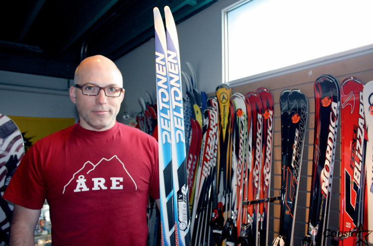 Jean-Francois Ravenelle, president and general manager of Gord's Ski and Bike, said the Windsor Park Nordic Centre presents some unique opportunities for city skiers.