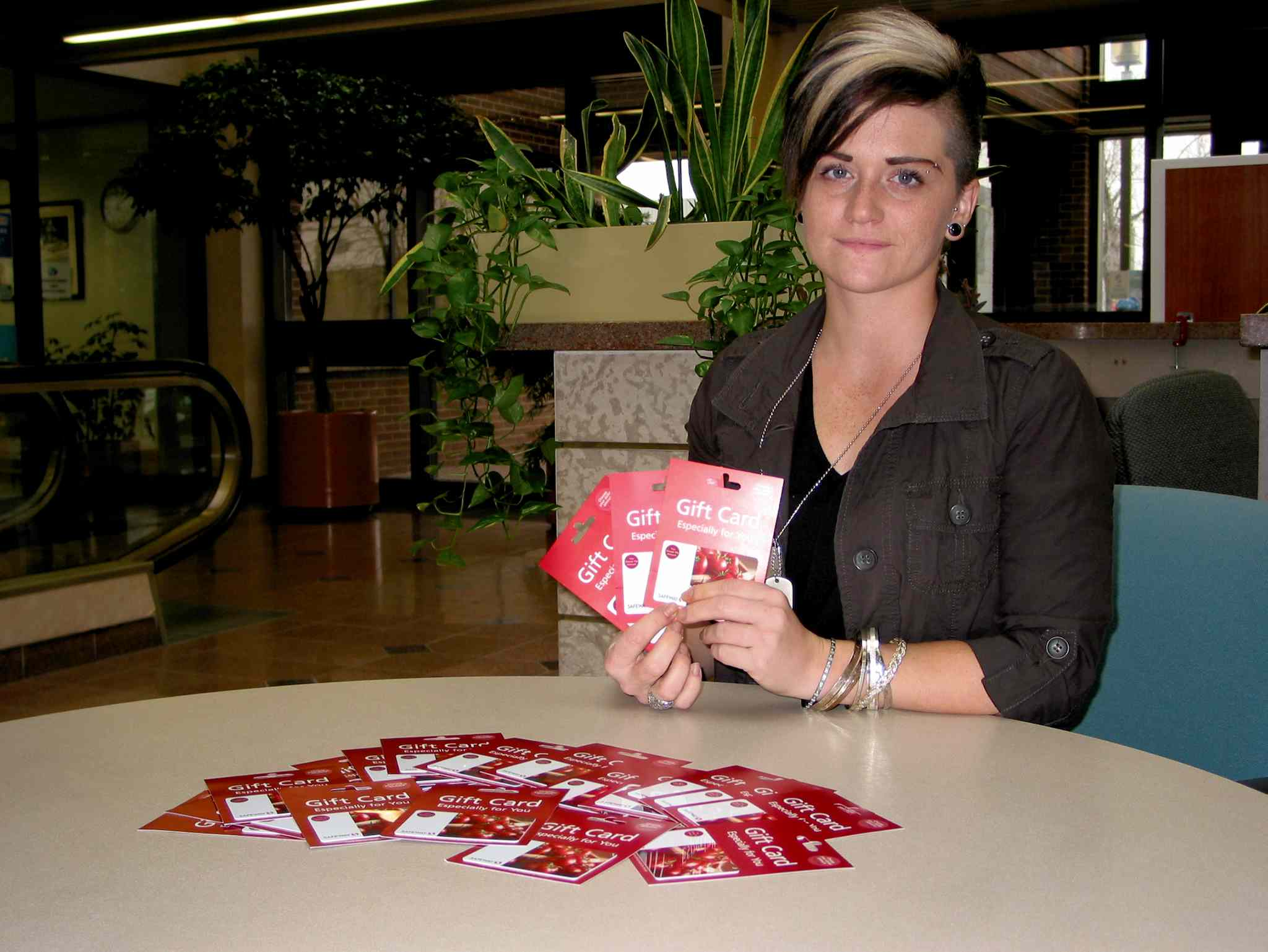 Ashley Meilleur, of Headingley, is collecting $10 grocery gift cards, money, warm clothing, sleeping bags and personal hygiene items to be distributed to homeless people in Winnipeg on Christmas Day.