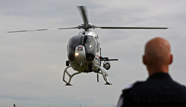 Edmonton took possession of a brand new Air 2 police helicopter in September.