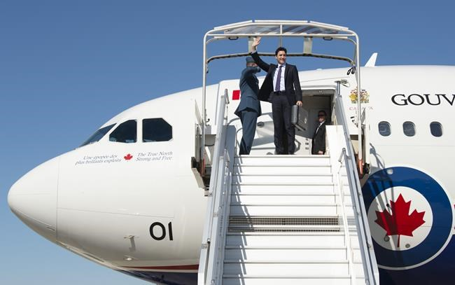 Canadian Prime Minister Justin Trudeau arrives in Paris, France on Wednesday, May 15, 2019. Trudeau is in France to attend the Tech for Good Summit. THE CANADIAN PRESS/Adrian Wyld