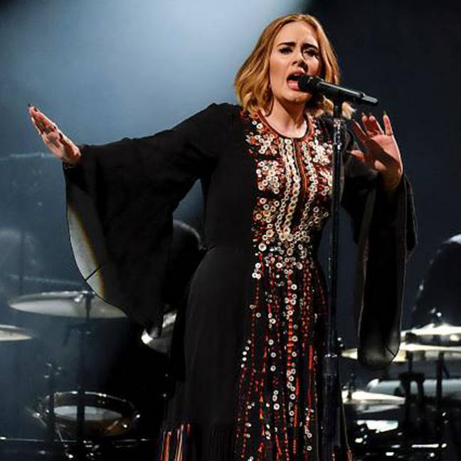 A Bat Crashed Adele's Concert & She Reacted Like You Would