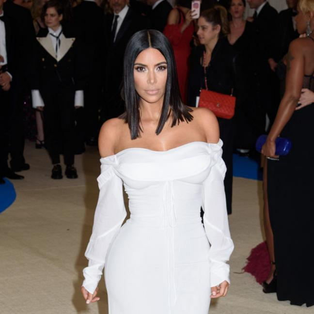 Kim Kardashian goes surprisingly low-key at the Met Gala 2017