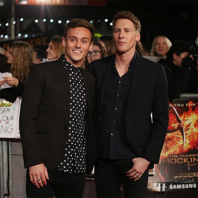Tom Daley & Dustin Lance Black Marry In UK