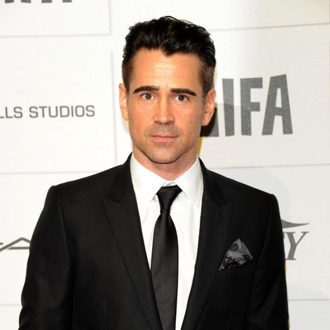Colin Farrell relates hilarious story about taking care of his 'retro bush'