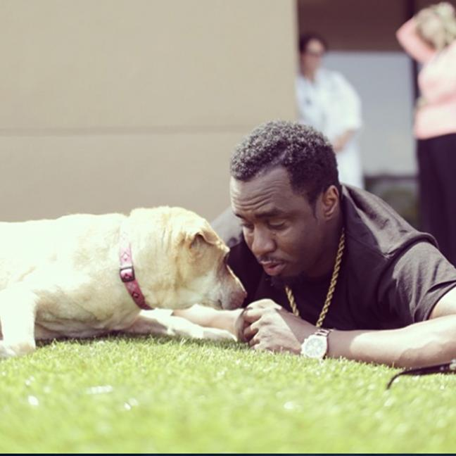 P Diddy and Honey (c) Instagram