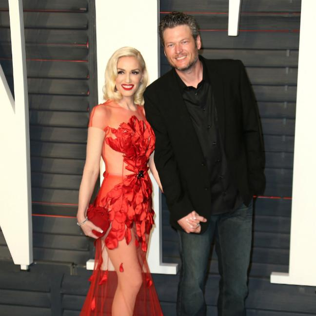 Blake Shelton stunned by Gwen Stefani songs