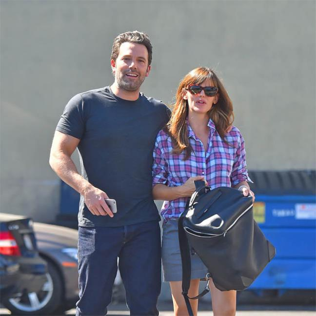 Ben Affleck and Jennifer Garner to share a home during filming