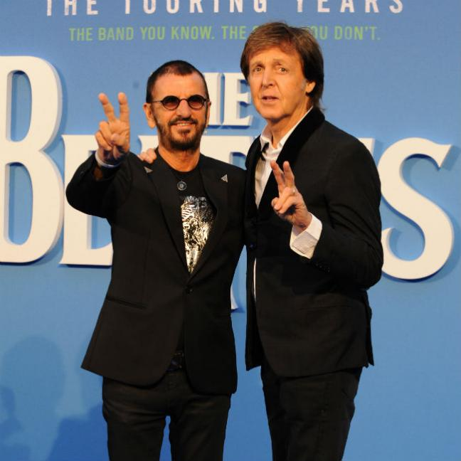 Two of Us. Surviving Beatles reunited for film premiere