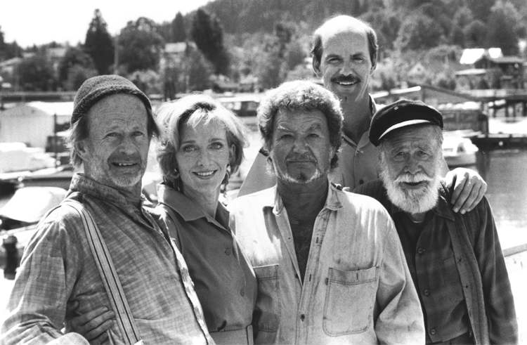 "'The Beachcombers,' which ran on CBC for roughly three centuries, showcased the hijinks of Canadian coastal workers. Is this crew really ""motley""? The inclusion of a Greek-Canadian and a Welsh-Canadian made this a multicultural icon on Canadian TV in 1972.  By modern standards, though, it's a bit of a... relic. (Handout / CBC)"