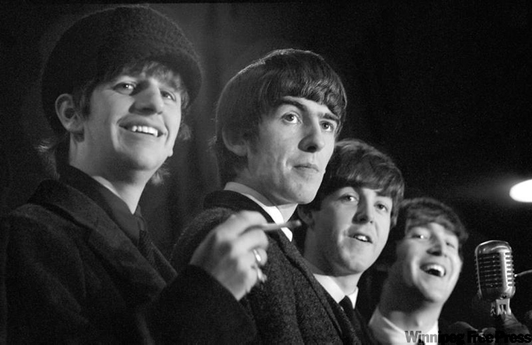 Photos of the Fab Four's first visit to North America show the lads at their cheeky best