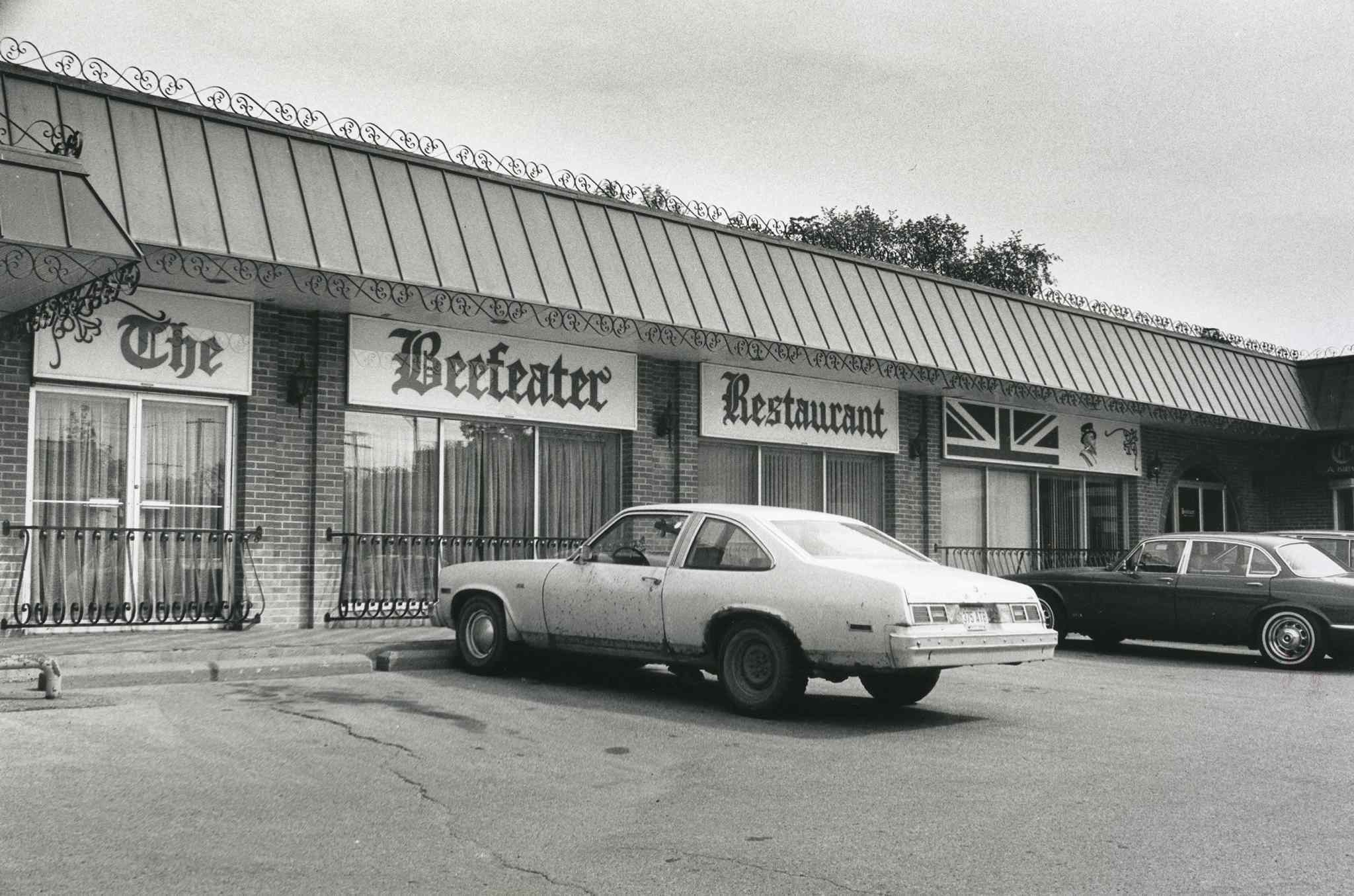 The Beefeater Restaurant, seen in 1989. (Glenn Olsen / Winnipeg Free Press files)