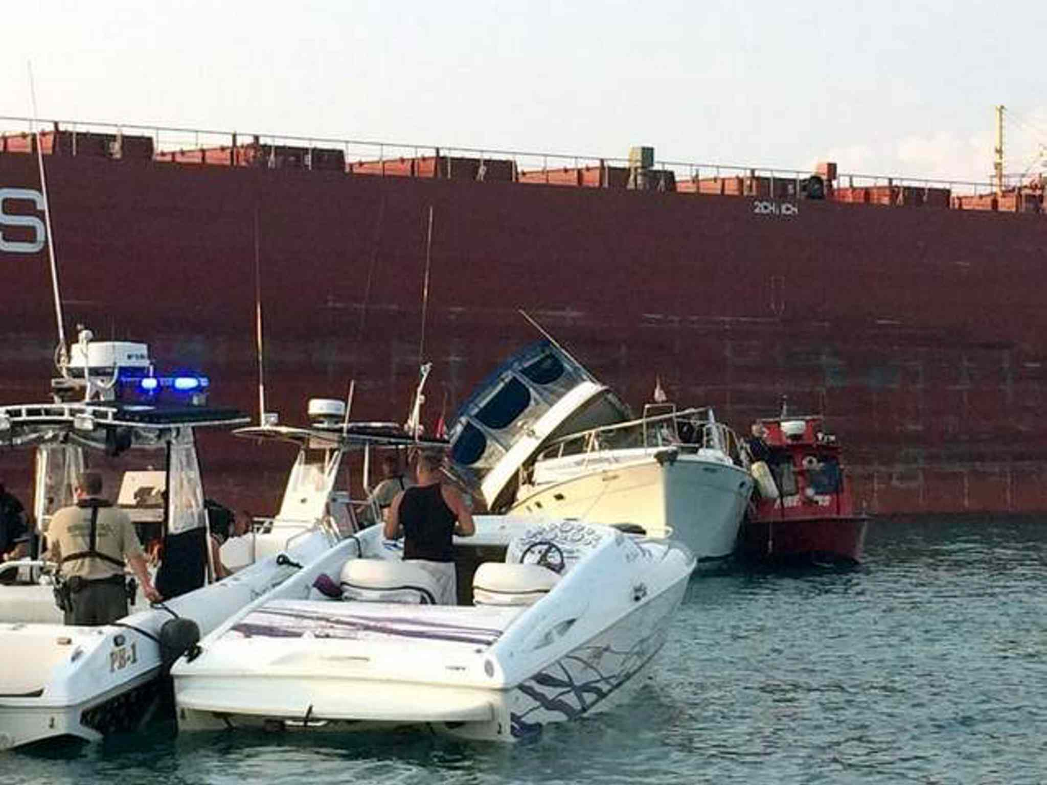 Nancy Axford, 68, was killed Sunday when a Baja speedboat slammed into the port side of a Bayliner cabin cruiser in the south channel of the St. Clair River.