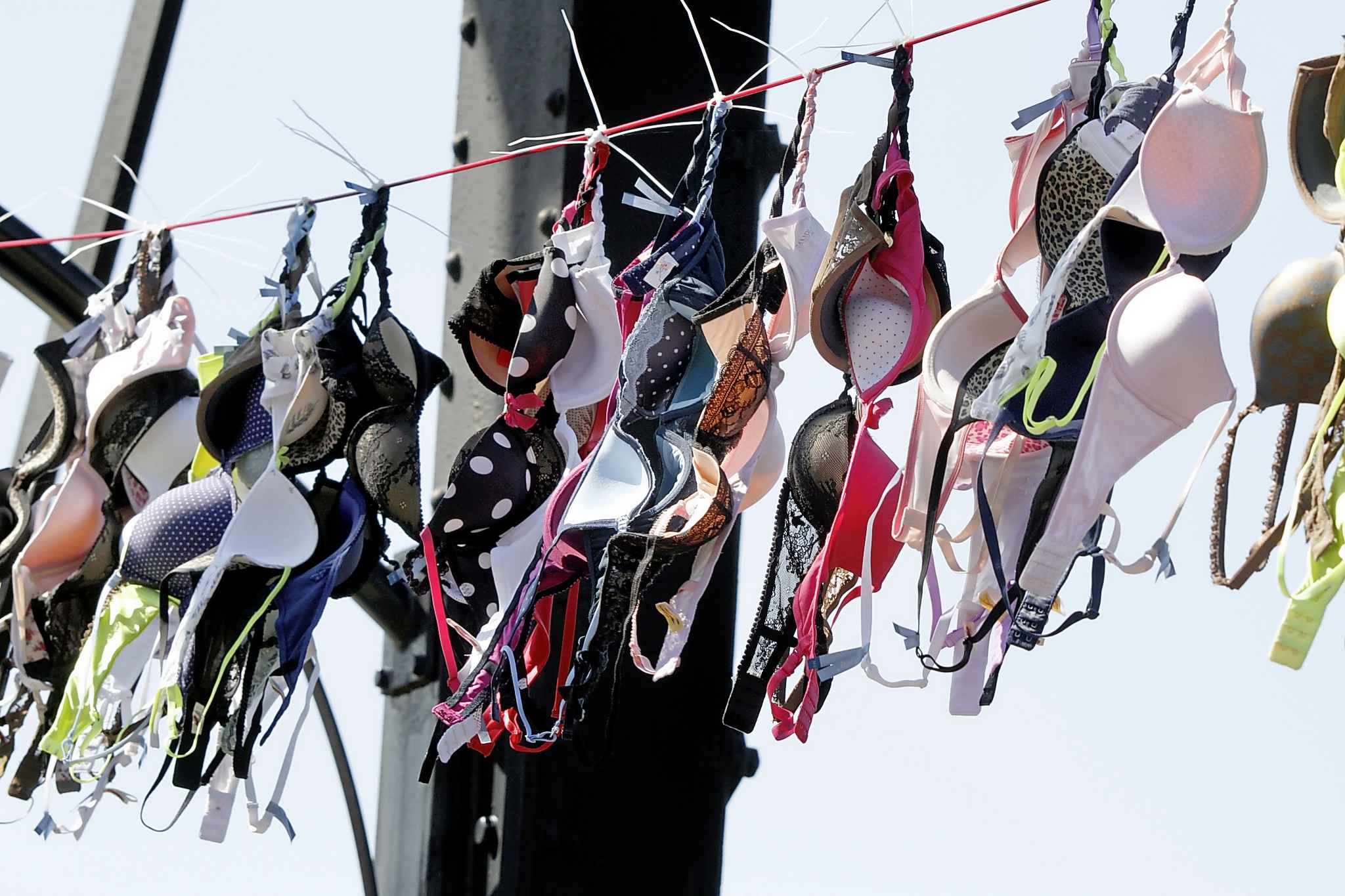 Bras are finicky because they have to be handwashed and you can't wring them out. (Keith Srakocic / Associated Press files)