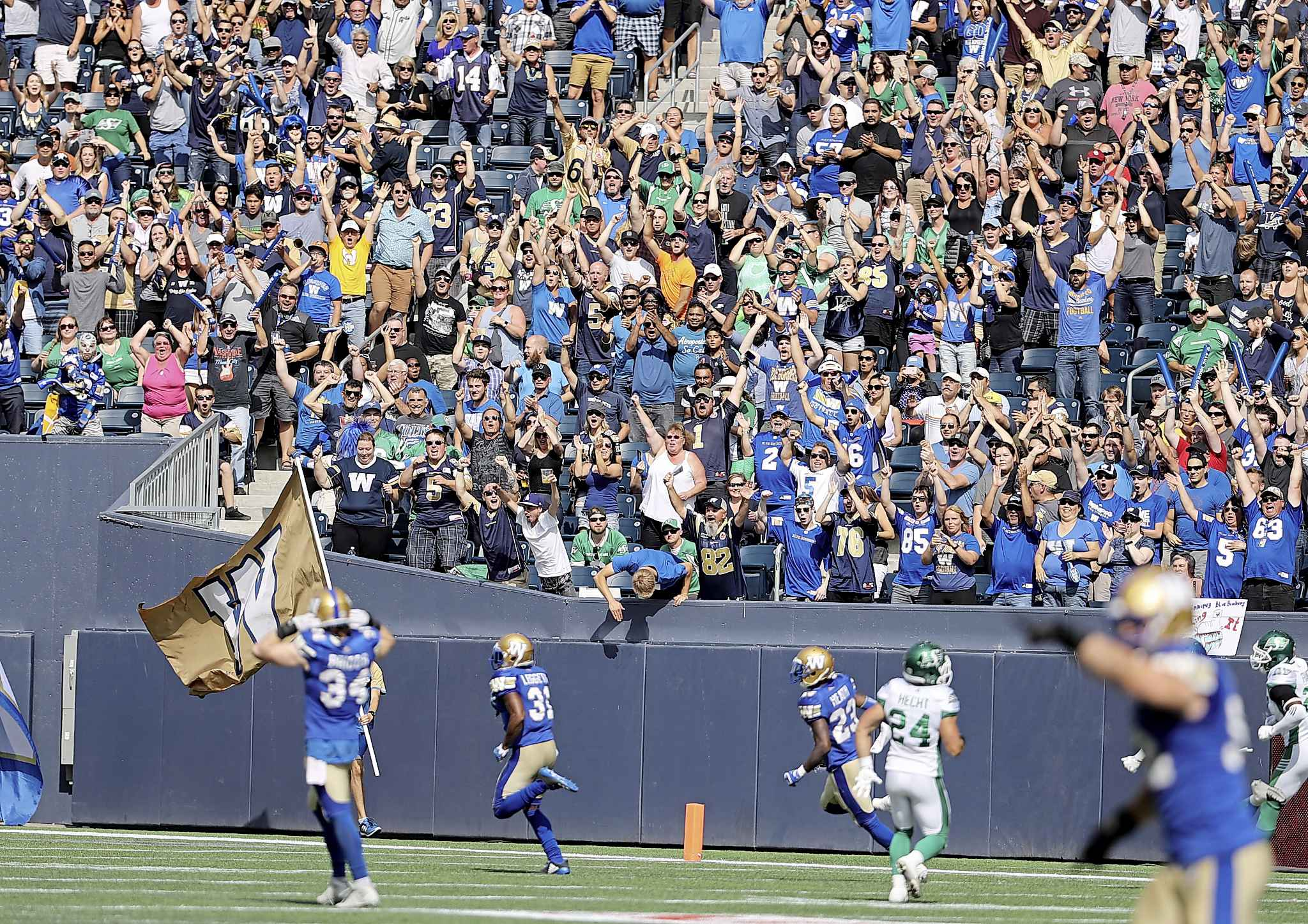 TREVOR HAGAN / THE CANADIAN PRESS FILES</p><p>Despite the increase in television viewership last year, it doesn't appear to be translating to more butts in seats across the league. The Bombers are hoping to buck that trend, by trying to give fans more bang — and booze — for their buck.</p>