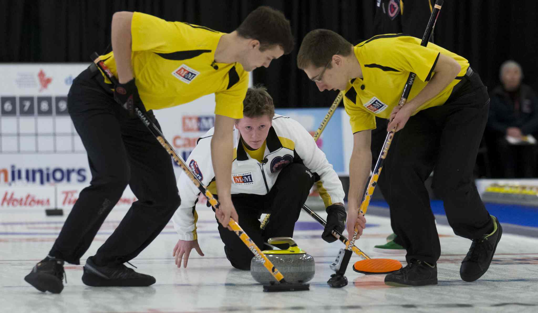 Different team, same result: Braden Calvert's squad upset the reigning Canadian champion to win the Manitoba title and is the new national junior champion.