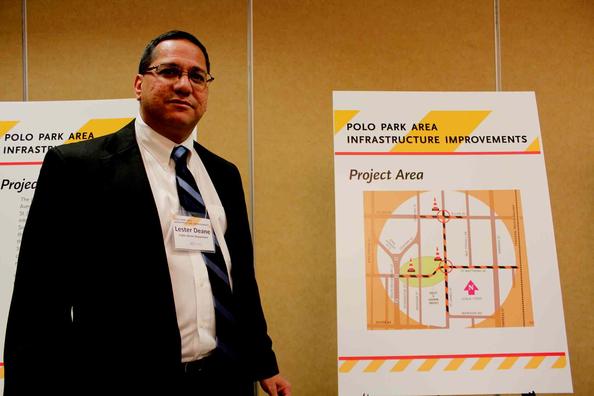 Lester Deane, manager of the engineering division of public works department, said the open house was to give people who work and live in the area a chance to see the upcoming project and provide their input.