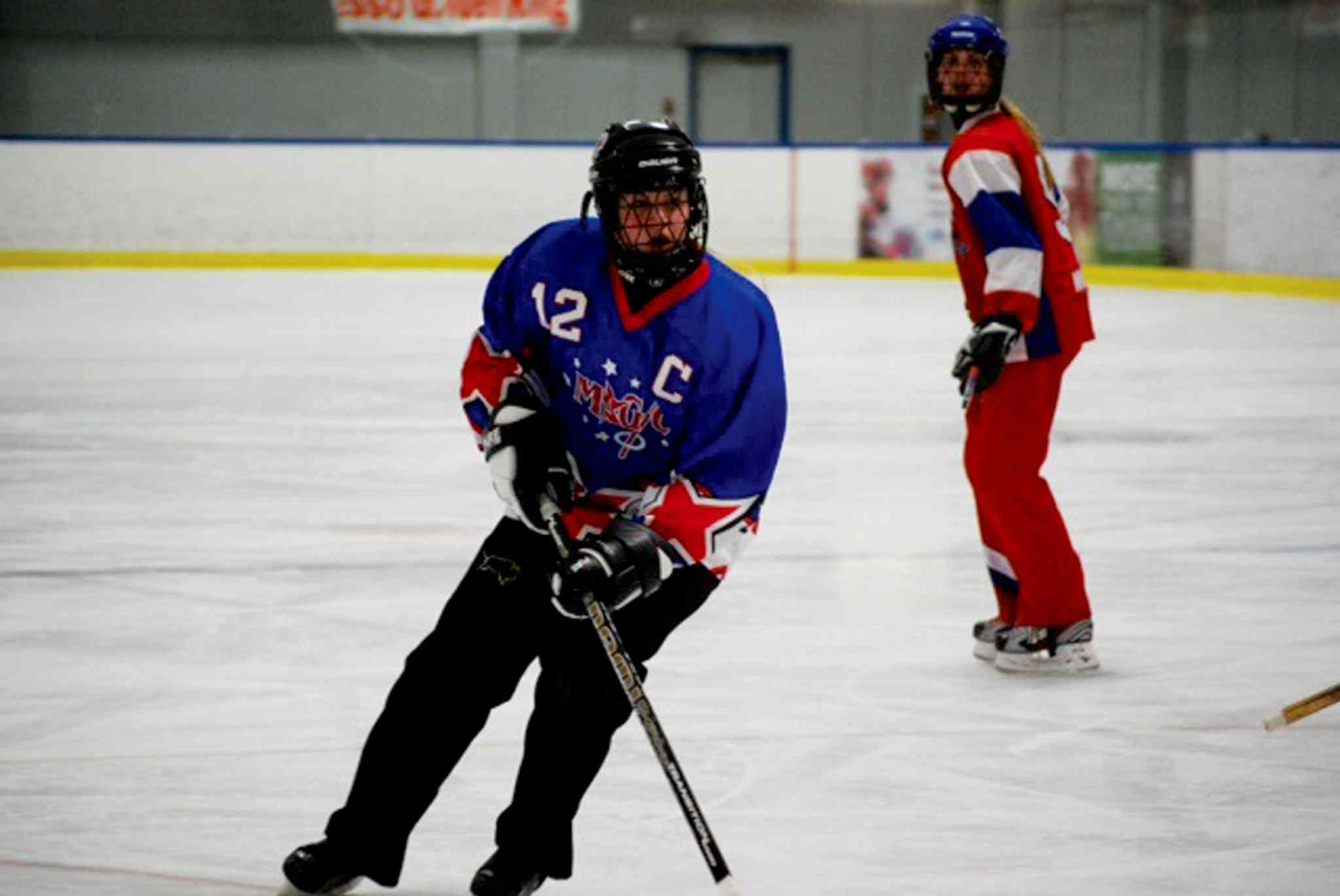Carleigh Petersen, who lives in St. James, competed in the Western Canadian Ringette Championships with the Manitoba Magic U14 AA team.