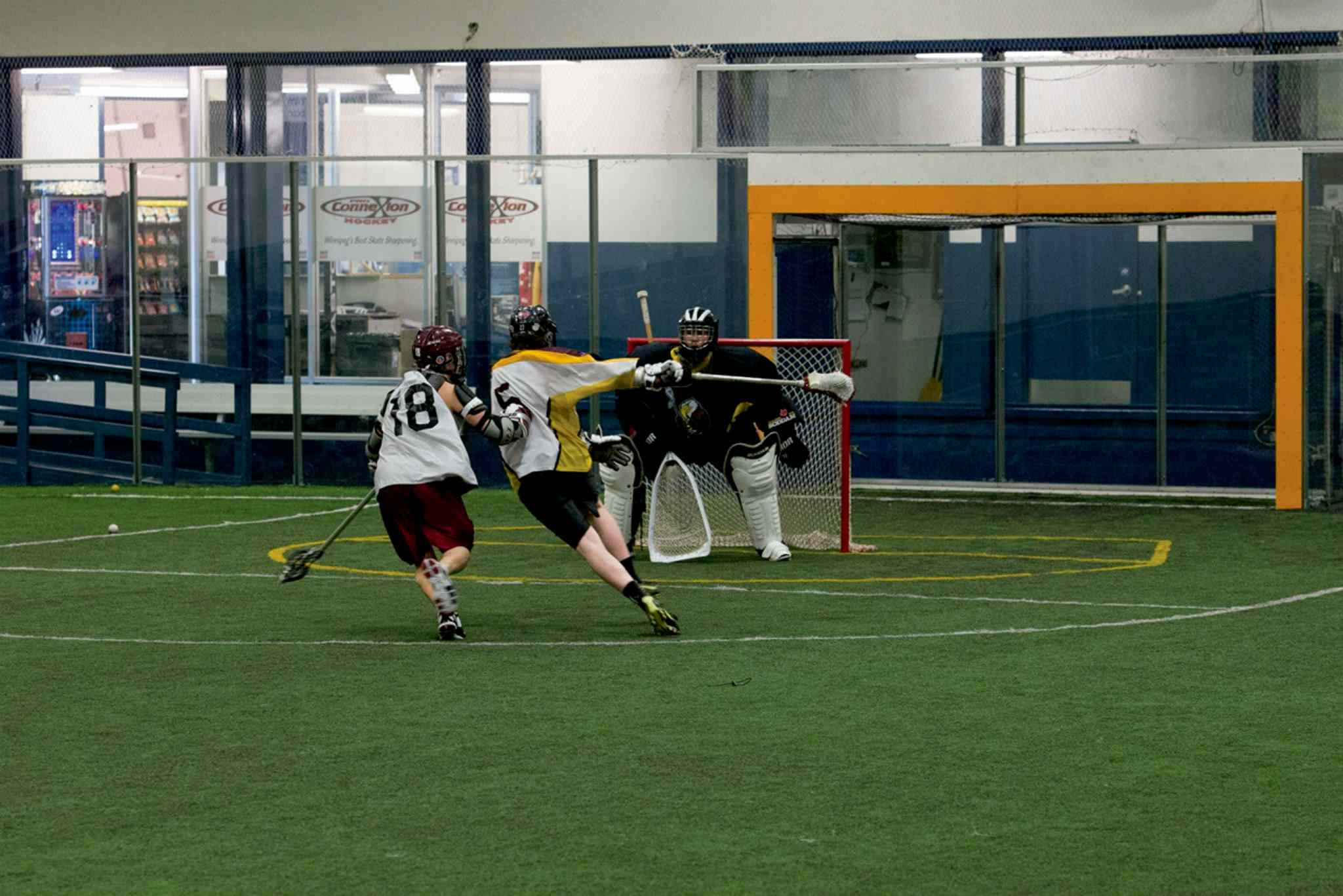 The Manitoba Gryphons lacrosse team changed its name to the Manitoba Blizzard as part of its rebranding project.