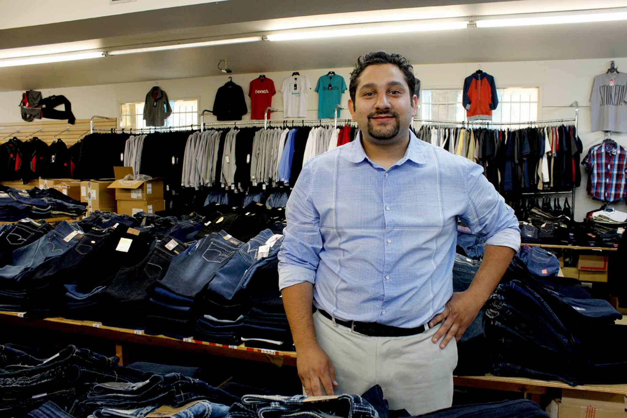 Mohamed El Tassi, owner of Sargent Blue Jeans, provided the Downtown Winnipeg BIZ with a 2008 Dodge Caliber for its Community Homeless Assistance Team to bring clients to appointments.