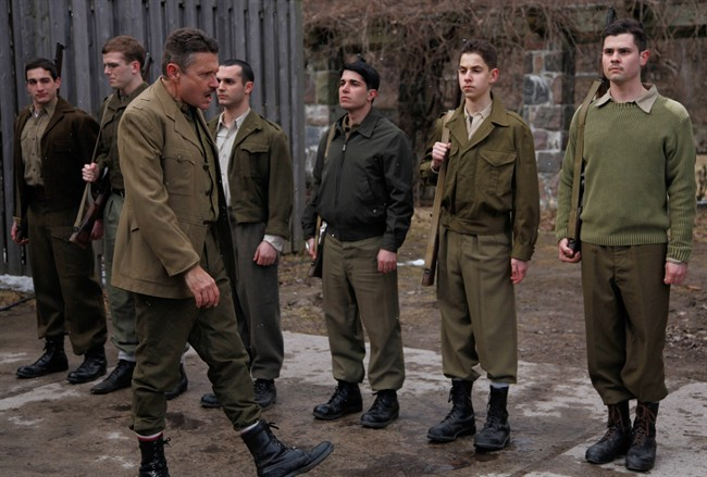 """A scene from the TV documentary """"The Real Inglorious Bastards,"""" which seeks out some truth from Quentin Tarantino's Second World War film """"Inglourious Basterds."""" THE CANADIAN PRESS/HO, GAT Media"""