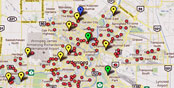INTERACTIVE MAP: A bad day on Winnipeg streets