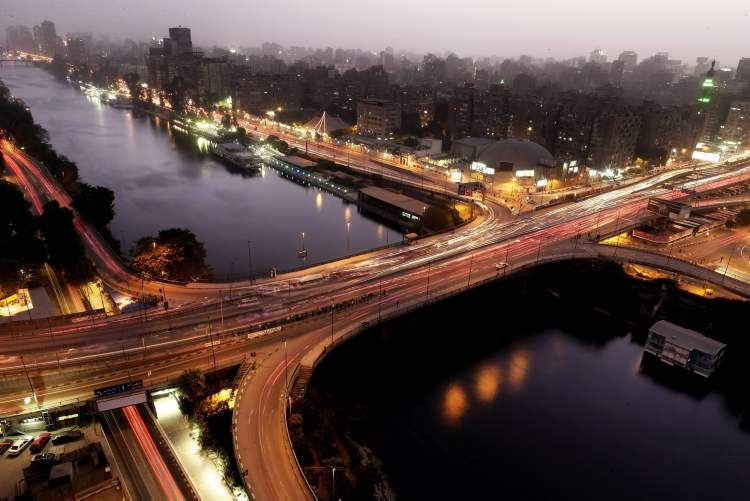 General view of the Nile River in Cairo, Egypt, Monday, Dec. 10, 2012. The Egyptian military on Monday assumed joint responsibility with the police for security and protecting state institutions until the results of a Dec. 15 constitutional referendum are announced. (AP Photo/Hassan Ammar)