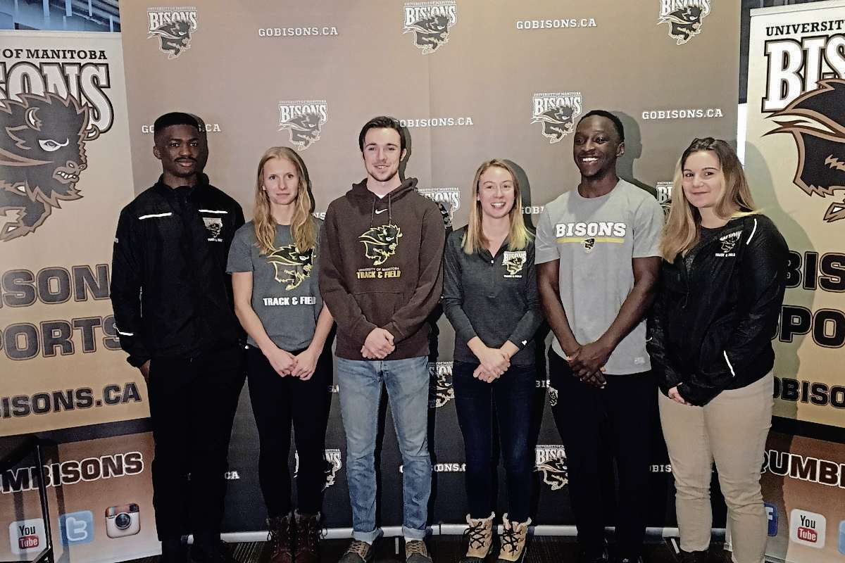 The University of Manitoba track and field program announced the captains for 2018, including Oyinko Akinola, Tegan Turner, Connor Boyd, Rebekah Sass, Gee-ef Nkwonta, and Brooke-Lynn Boyd.