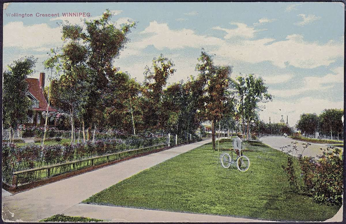 A postcard from the early 1900s depicts Wellington Crescent, near Palk Road looking northwest. The Crescentwood neighbourhood is significant because of the large estates and social history, heritage advocates say.
