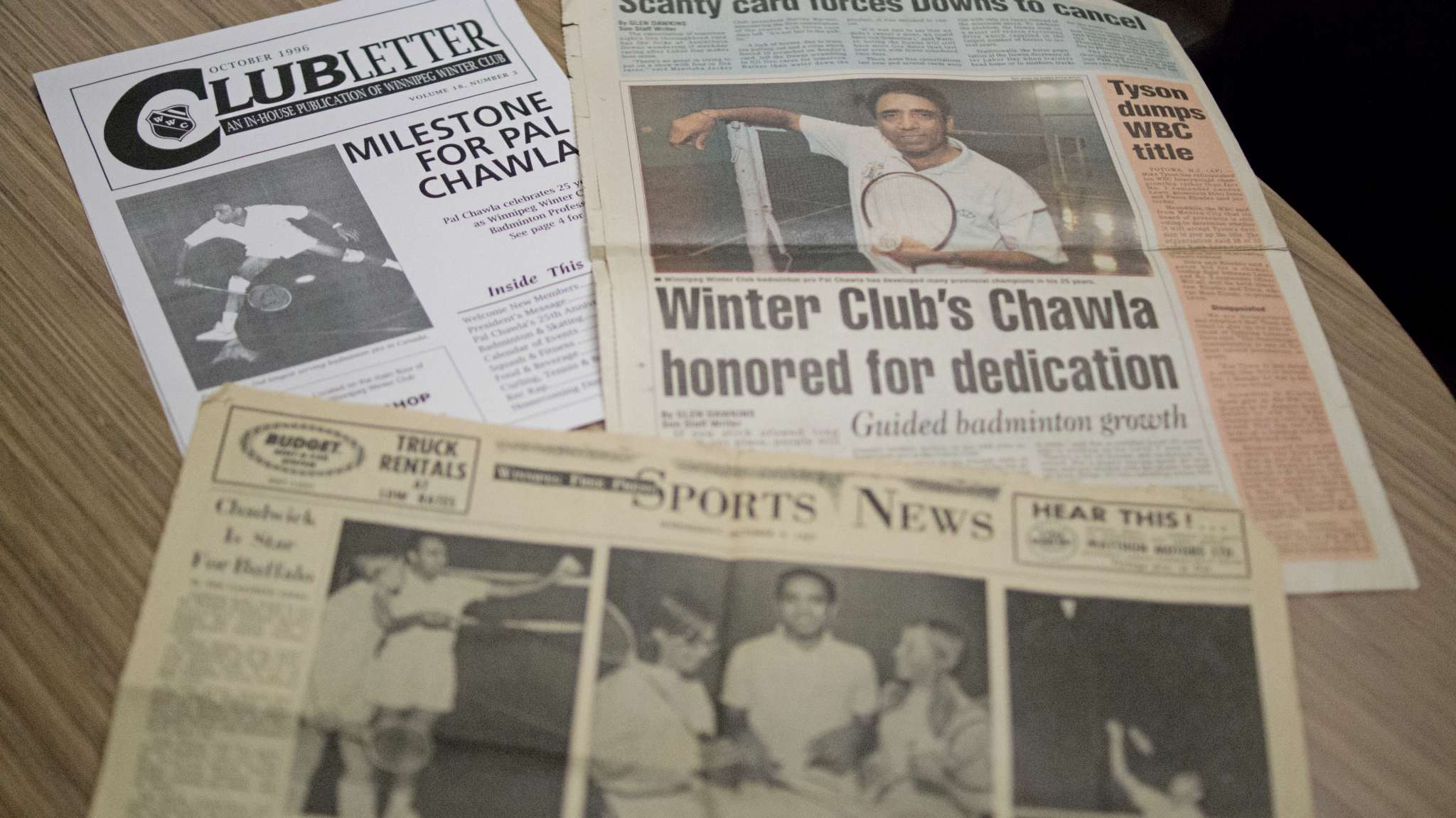 Pal Chawla has received many awards during his decades of coaching at the Winnipeg Winter Club.