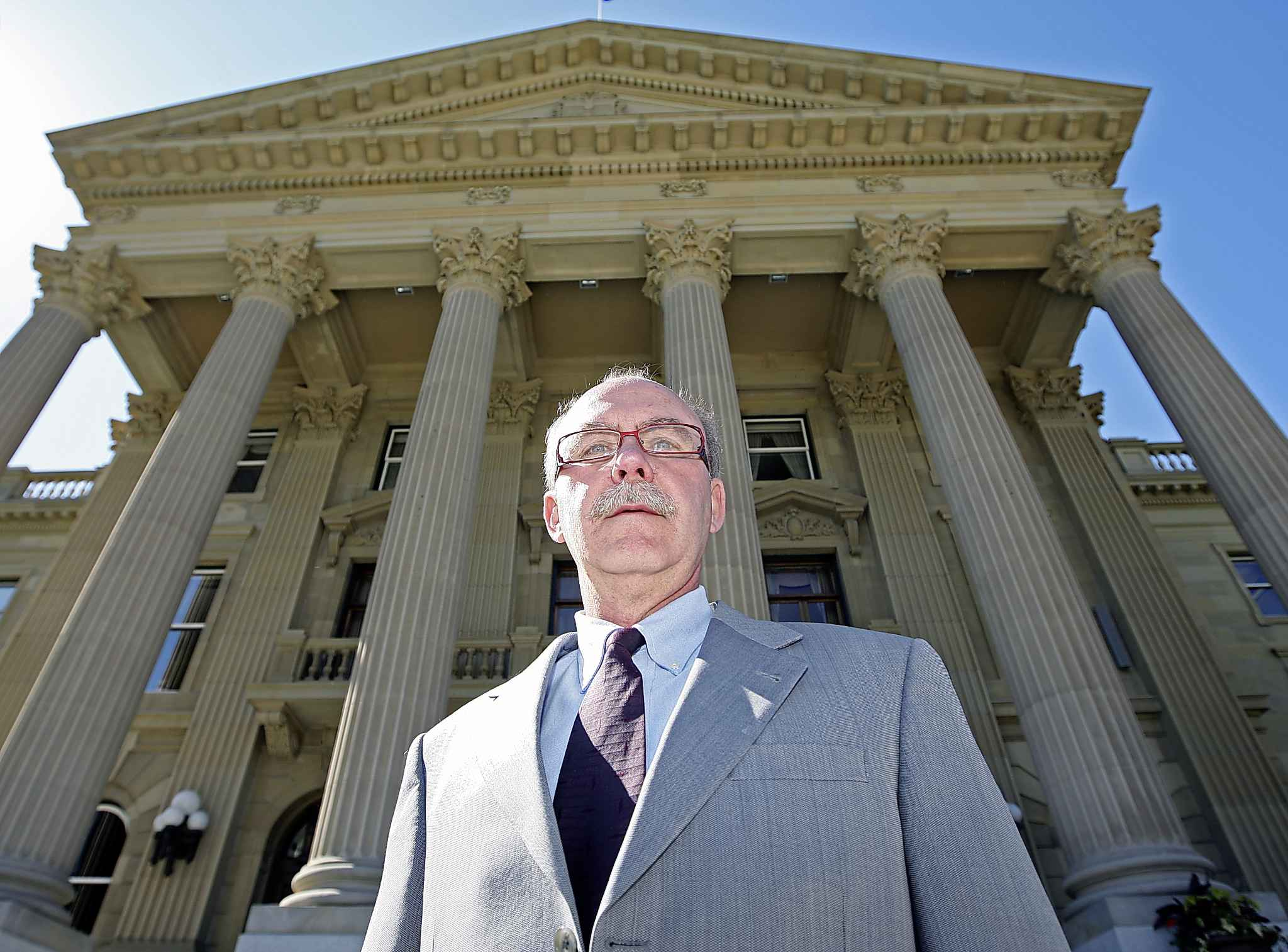 Lorne Gibson's office has levied fines totalling in the hundreds of thousands of dollars against the United Conservative Party. (John Lucas / Edmonton Journal files)