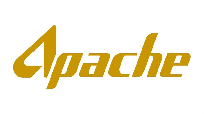 The corporate logo of Apache Canada Ltd. is shown. THE CANADIAN PRESS/HO