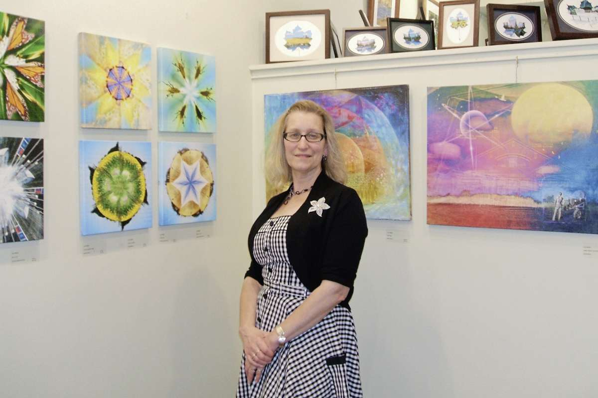 Lori Zebiere's new exhibit Saturation will be at Wayne Arthur Gallery until Sept. 29.