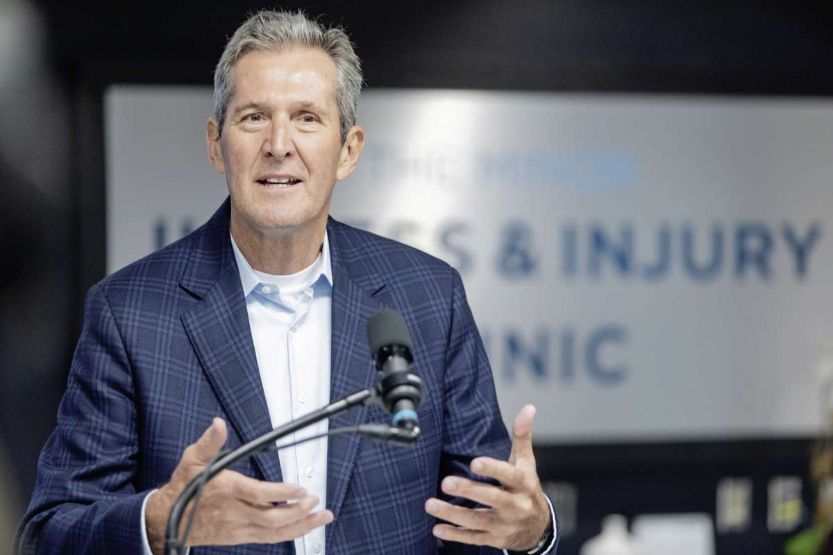 Brian Pallister is running for re-election in Fort Whyte with the Progressive Conservative Party of Manitoba.