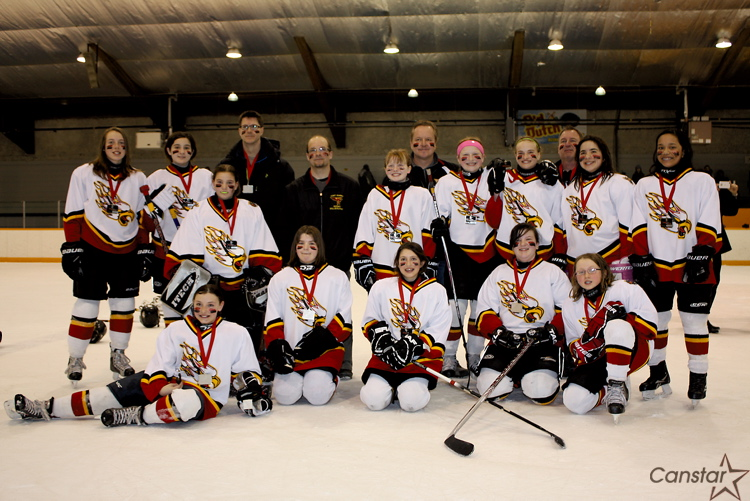 The Fort Garry Flyers had an undefeated regular season, and came within a goal of the championship.