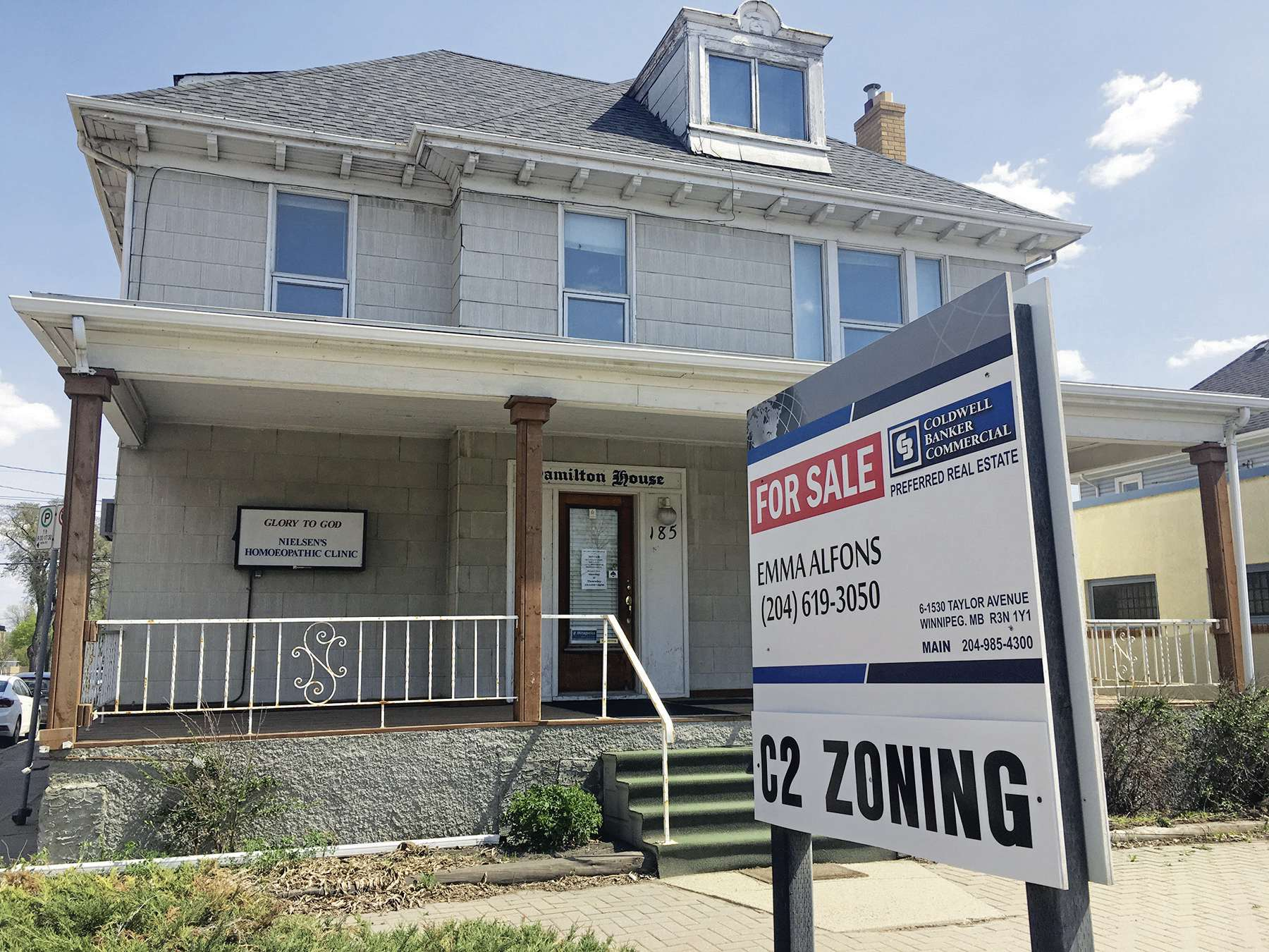 Hamilton House, at 185 Henderson Hwy., is up for sale. The former home of Dr. T.G. Hamiton was once a hub of spiritualist and paranormal exploration in Winnipeg.