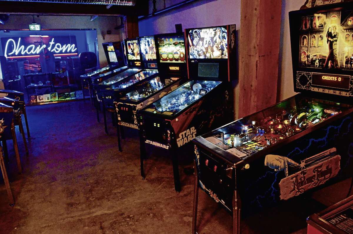 Forth, at 171 McDermot Ave., is playing host to a pop-up pinball arcade until May 10.